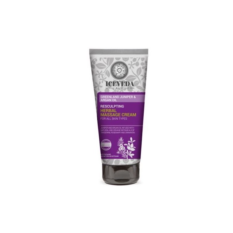 Iceveda Resculpting Herbal Massage Cream