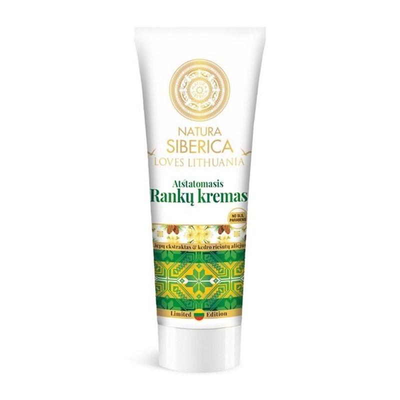 Natura Siberica Loves Lithuania Repairing Hand Cream