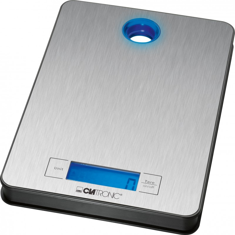 Clatronic KW 3412 Køkkenvægt Sølv