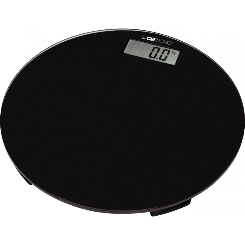 Clatronic PW 3369 Bathroom Scale Black