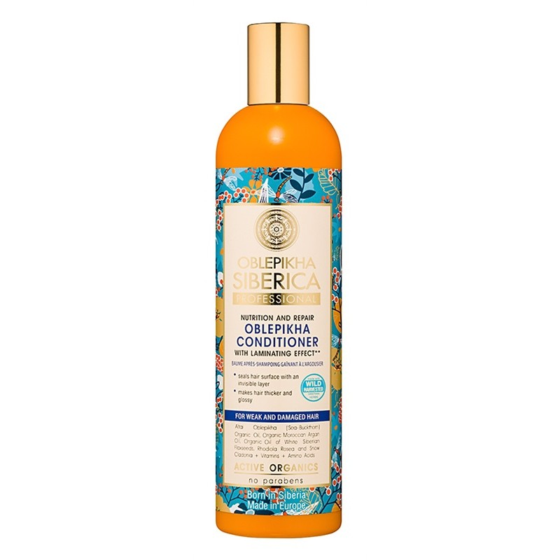 Natura Siberica Oblepikha Nutrition & Repair Conditioner