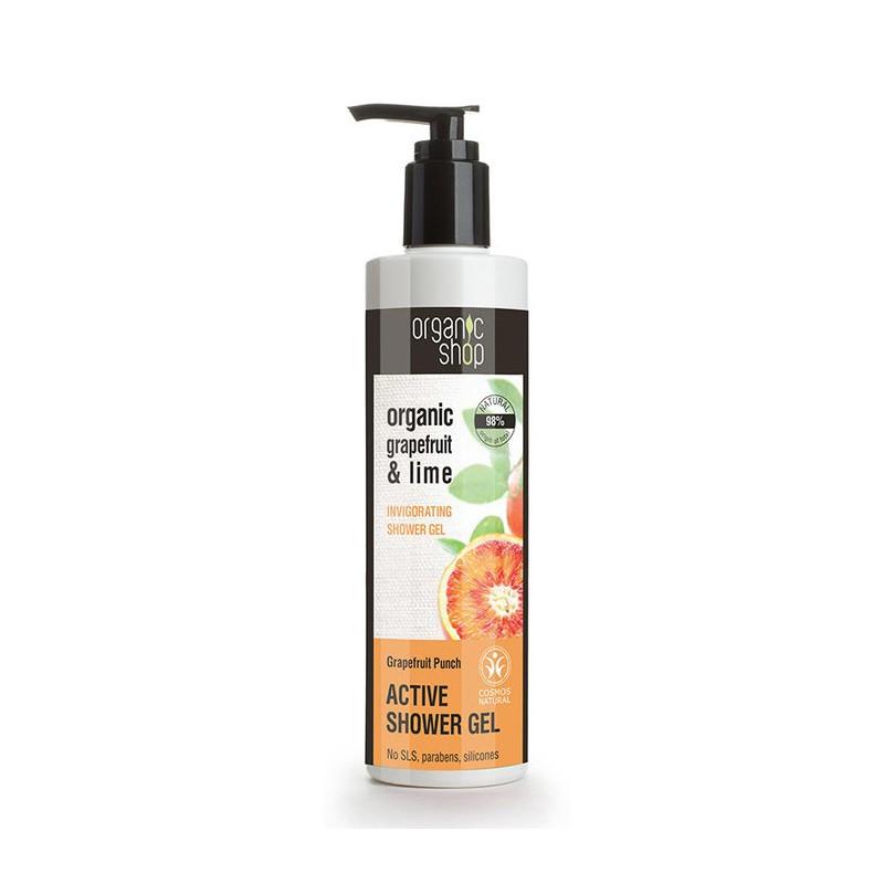 Organic Shop Organic Grapefruit & Lime Active Shower Gel