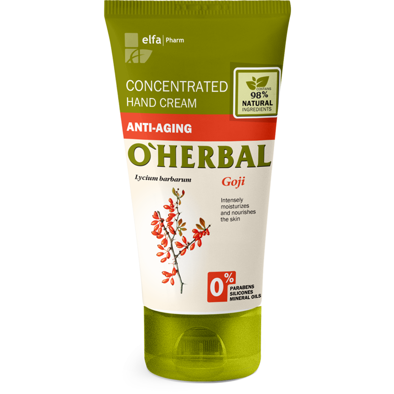 O'Herbal Goji Anti-Aging Concentrated Hand Cream