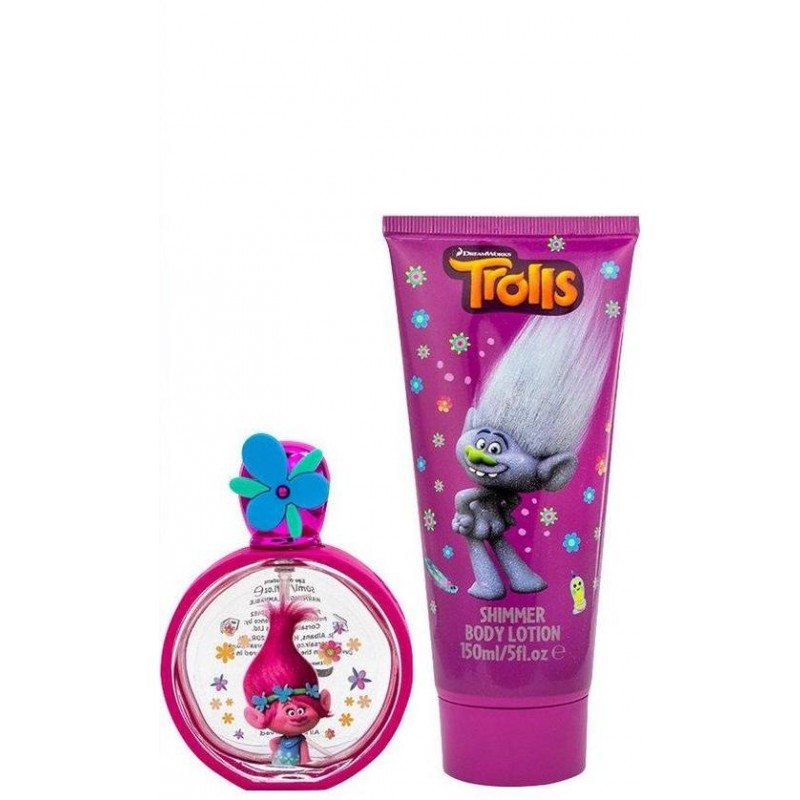 Trolls Be Unique EDT & Shimmer Body Lotion