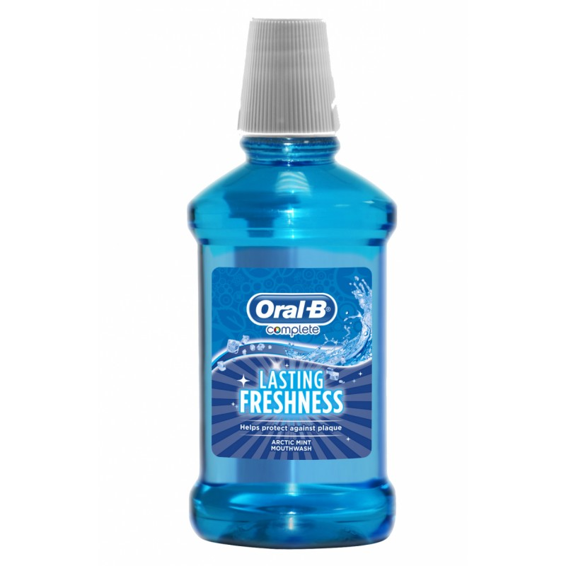 Oral-B Lasting Freshness Arctic Mint Mouthwash