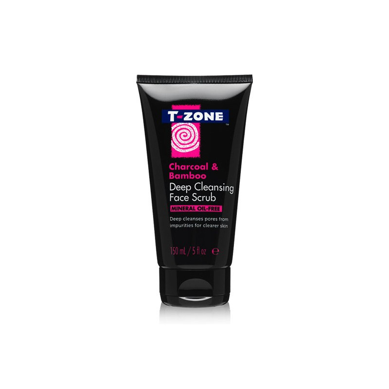 T-Zone Charcoal & Bamboo Deep Cleansing Face Scrub