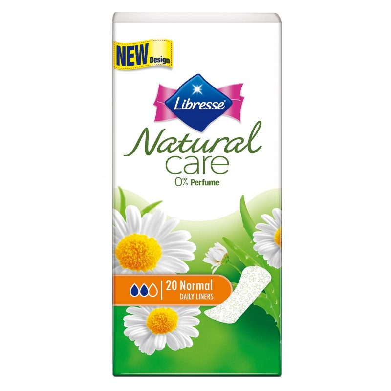 Libresse Natural Care Normal Daily Liners