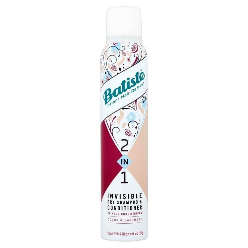 Batiste 2in1 Cocoa & Cashmere Dry Shampoo