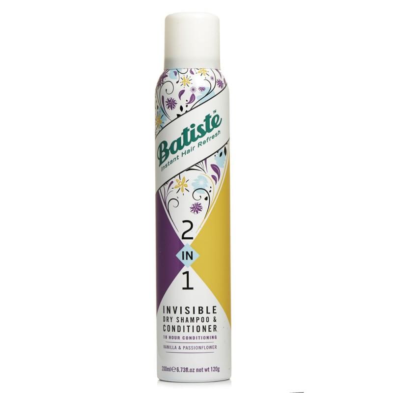Batiste 2in1 Vanilla & Passionflower Dry Shampoo