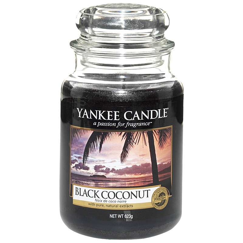 Yankee Candle Classic Large Jar Black Coconut Candle
