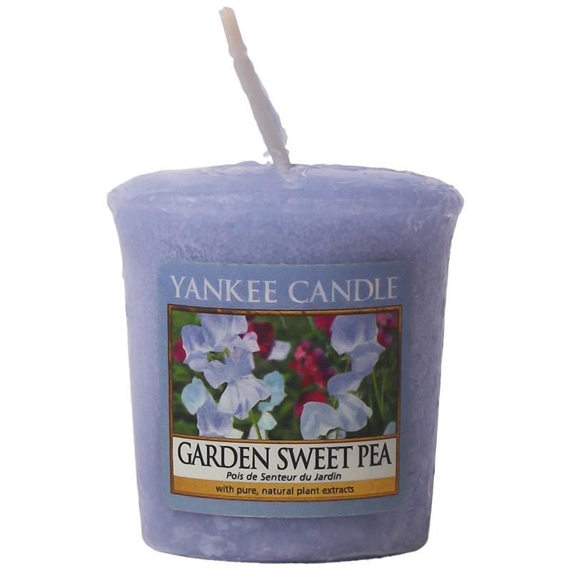 Yankee Candle  Classic Mini Garden Sweet Pea Candle