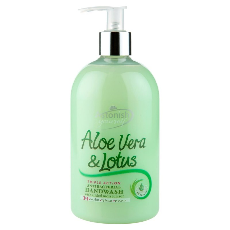 Astonish Aloe Vera & Lotus Hand Wash