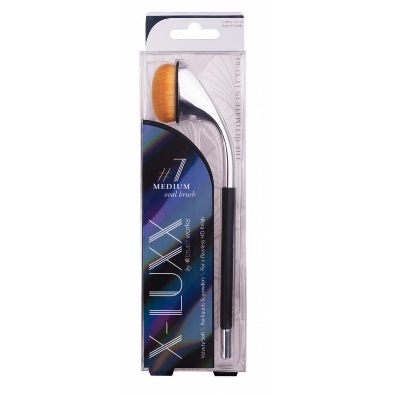 Brush Works X-Luxx Medium Oval Brush #7
