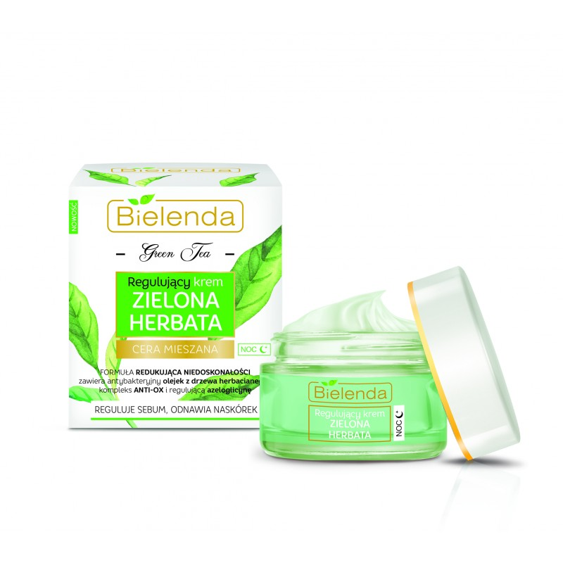 Bielenda Green Tea Regulating Night Cream