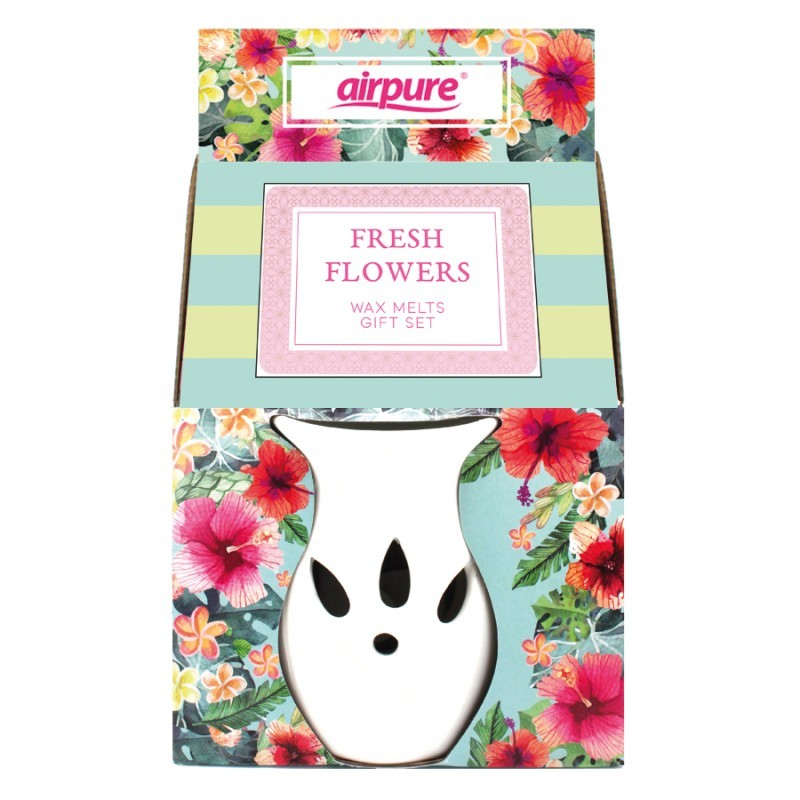 Airpure Wax Melts Gift Set Fresh Flowers