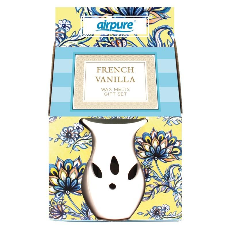 Airpure Wax Melts Gift Set French Vanilla