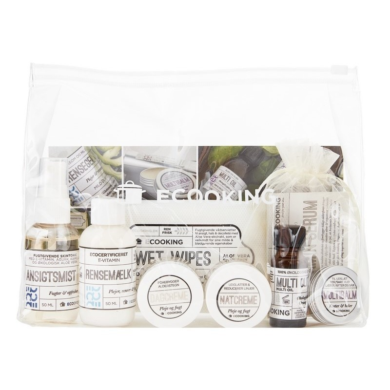 Ecooking Starter Kit with Cleansing Milk