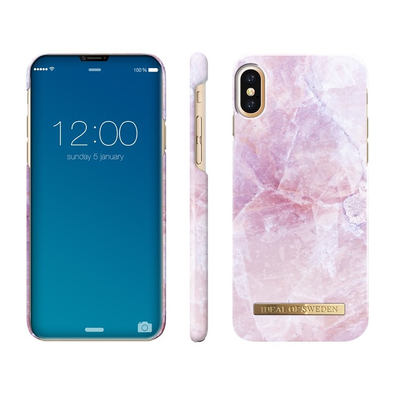 iDeal Of Sweden Fashion Case iPhone X Pilion Pink Marble