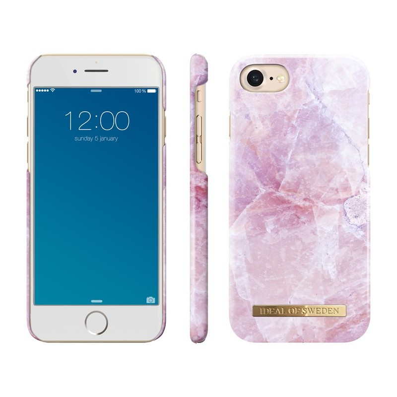 iDeal Of Sweden Fashion Case iPhone 6/6S/7/8 Pilion Pink Marble