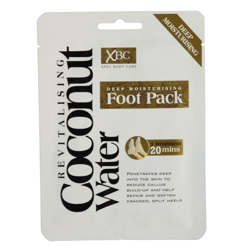 Revitalising Coconut Water Deep Moisturising Foot Pack