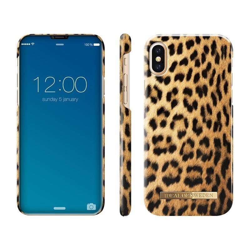 iDeal Of Sweden Fashion Case iPhone X/XS Wild Leopard