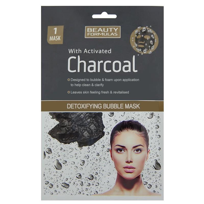 Beauty Formulas Charcoal Detoxifying Bubble Mask