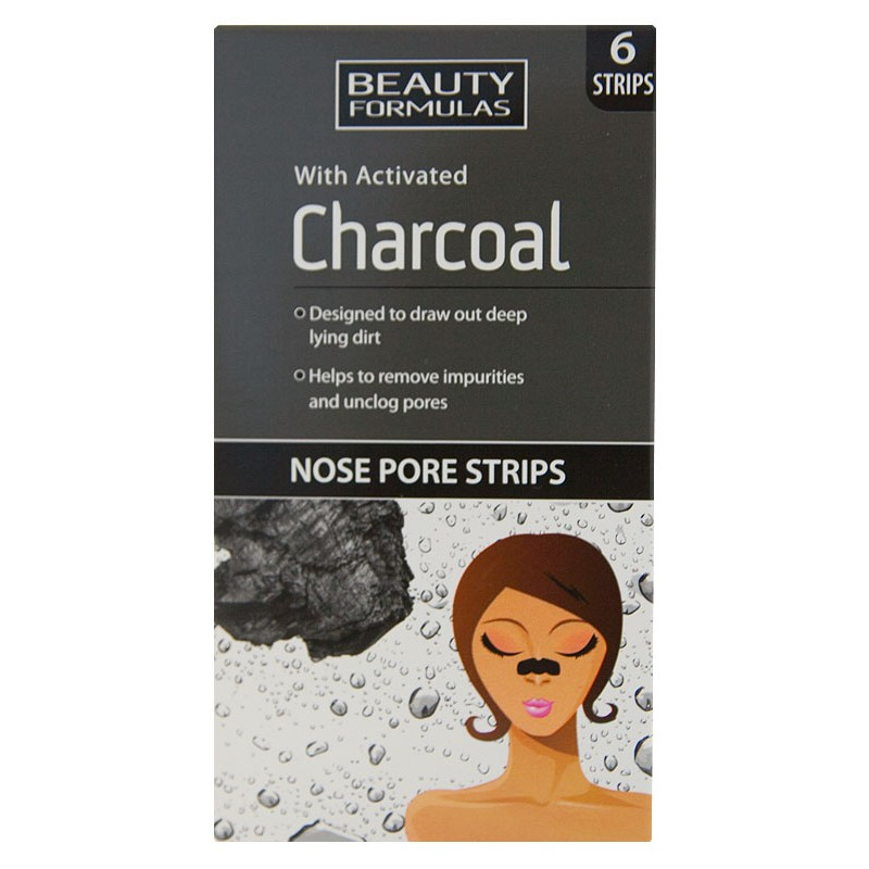 Beauty Formulas Charcoal Nose Pore Strips