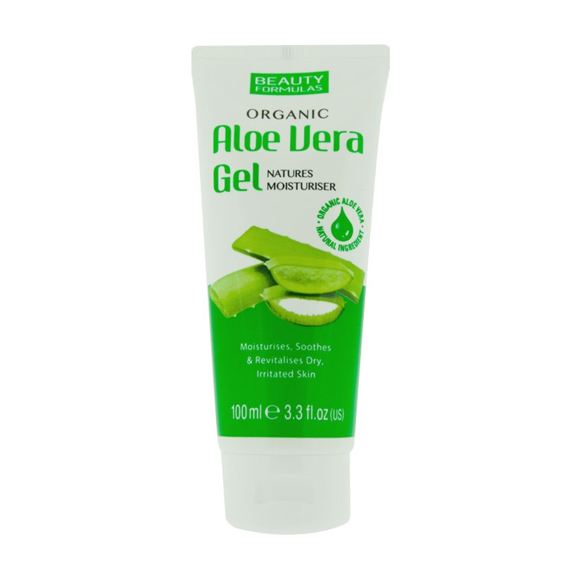 Beauty Formulas Organic Aloe Vera Gel