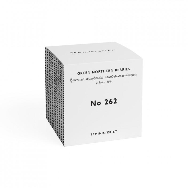 Teministeriet No. 262 Green Northern Berries Tea Box