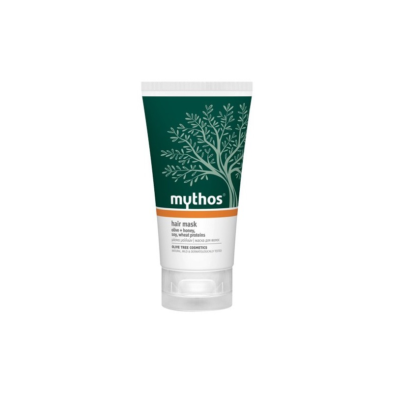 Mythos Hair Mask Olive, Honey, Soy & Wheat Proteins