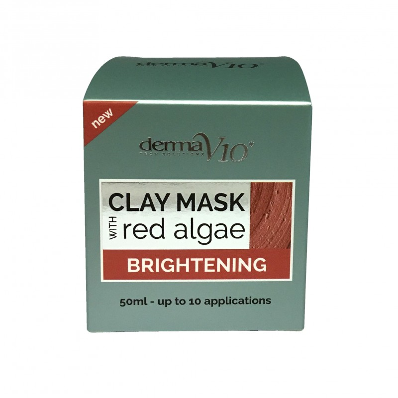 DermaV10 Brightening Red Algae Clay Mask