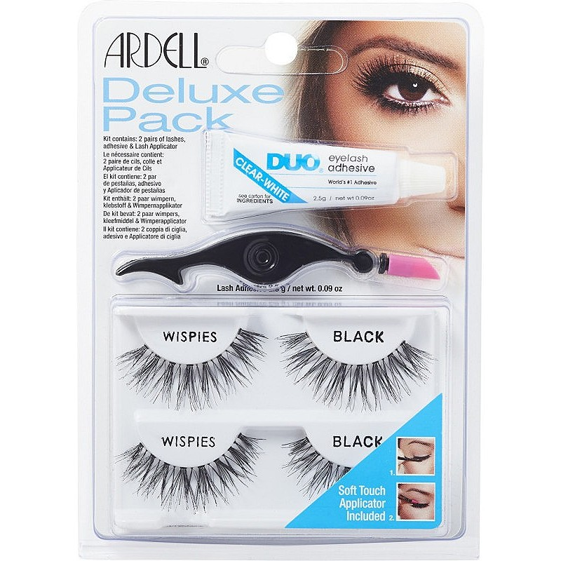 Ardell Eyelash Deluxe Pack Wispies Black