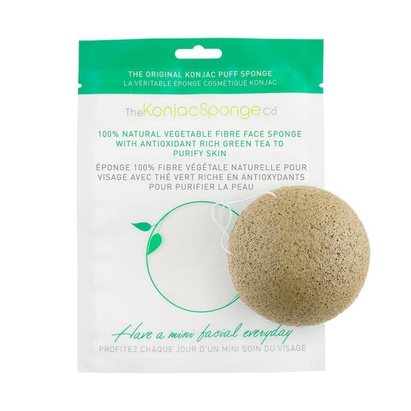 The Konjac Sponge Co Rich Green Tea Puff Sponge