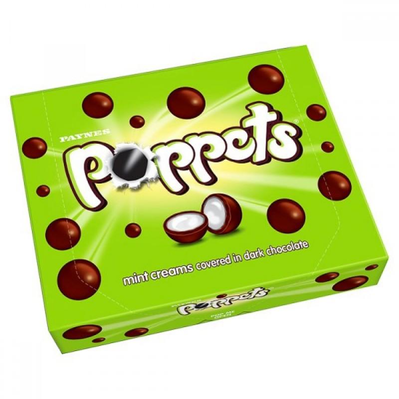 Paynes Poppets Mint Creams Box