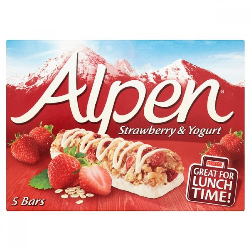 Alpen Strawberry & Yogurt Cereal Bar