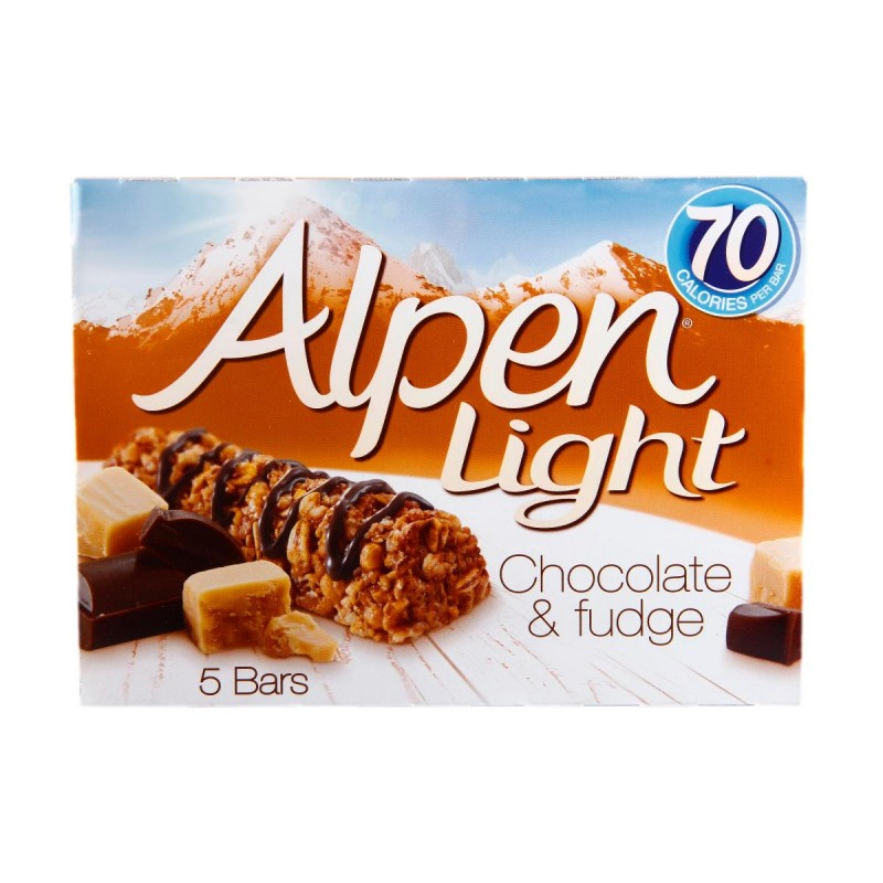 Alpen Light Chocolate & Fudge Cereal Bar