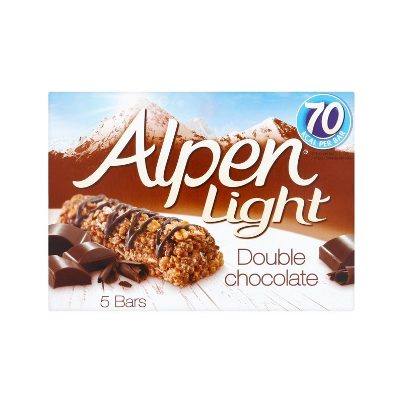 Alpen Light Double Chocolate Cereal Bar