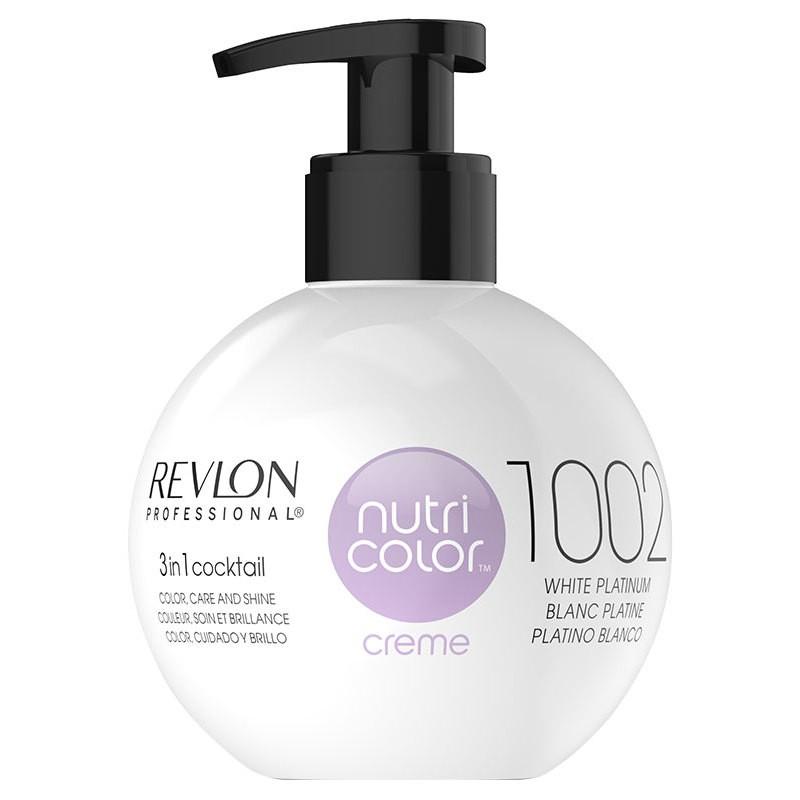 Revlon Nutri Color Creme 1002 White Platinum