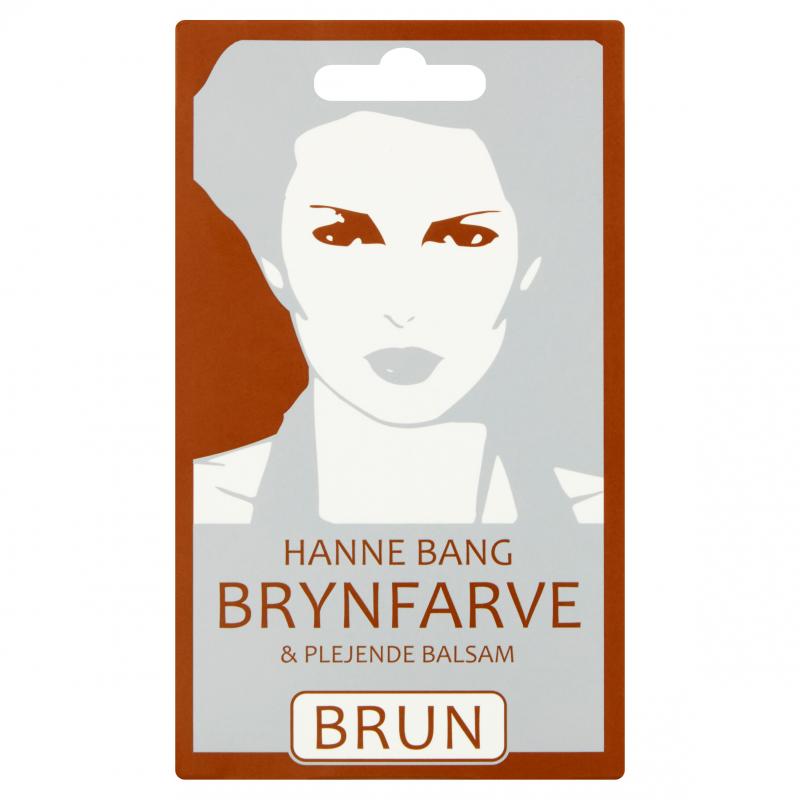 Hanne Bang Ripsien ja kulmakarvojen väri Ruskea