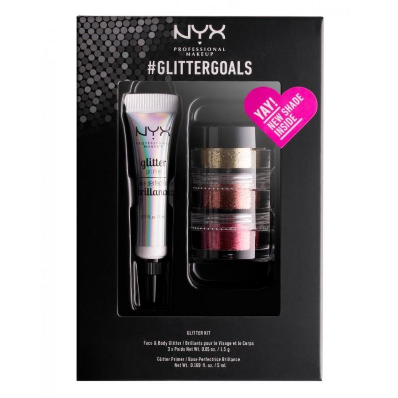 NYX #Glittergoals Glitter Kit 2