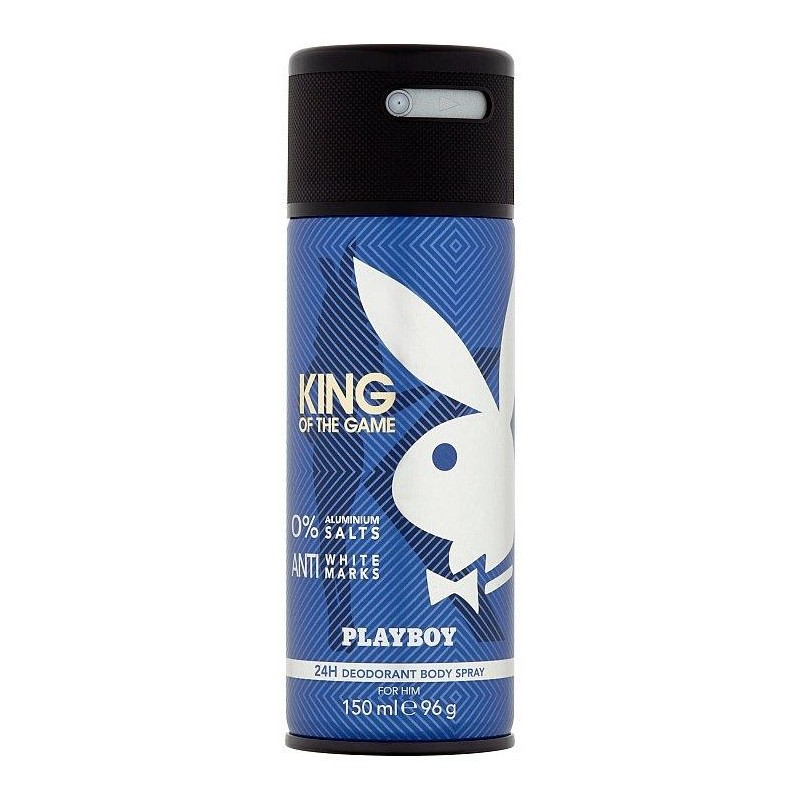 Playboy King Of The Game Deospray