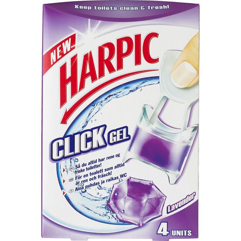 Harpic Click Gel Lavender