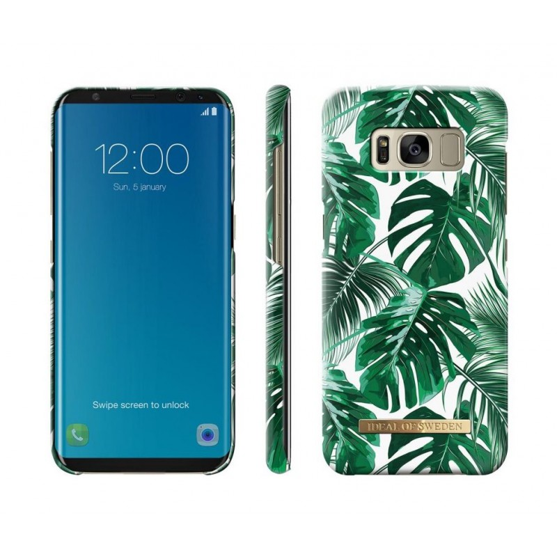 iDeal Of Sweden Fashion Case Galaxy S8 Monstera Jungle