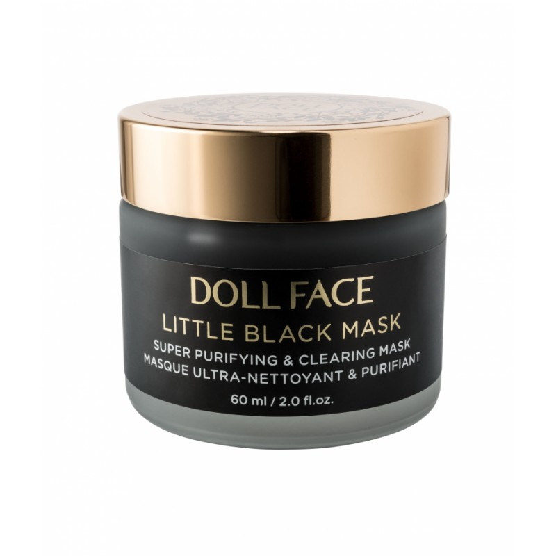 Doll Face Little Black Mask