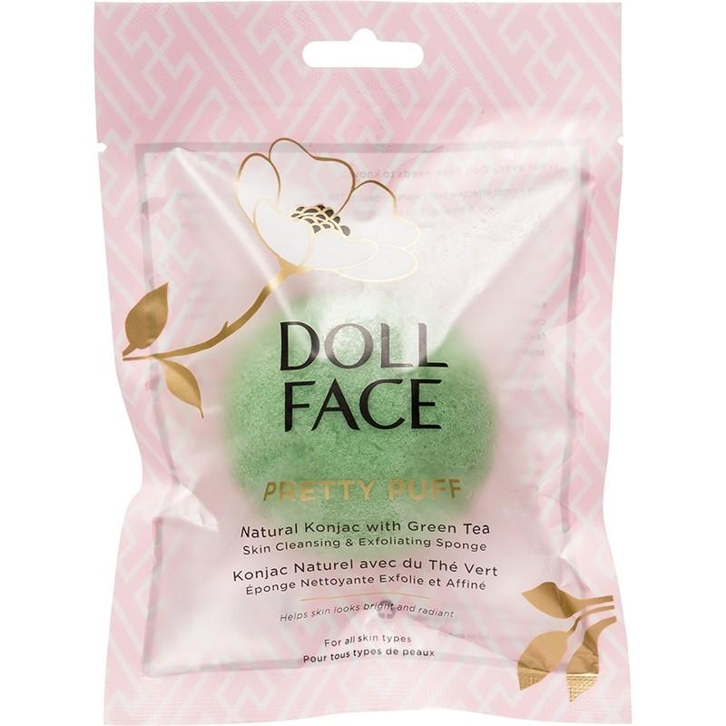 Doll Face Pretty Puff Natural Konjac Green Tea