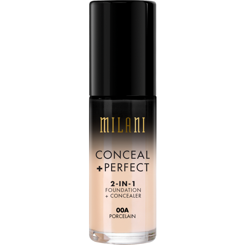 Milani Conceal + Perfect 2in1 Foundation + Concealer 00A Porcelain