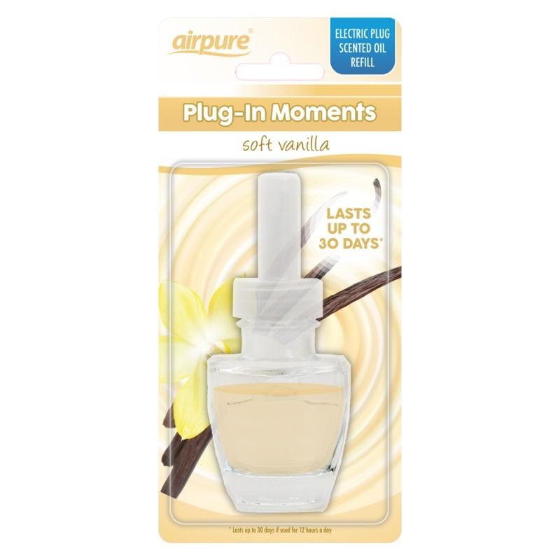 Airpure Plug-In Moments Refill Soft Vanilla