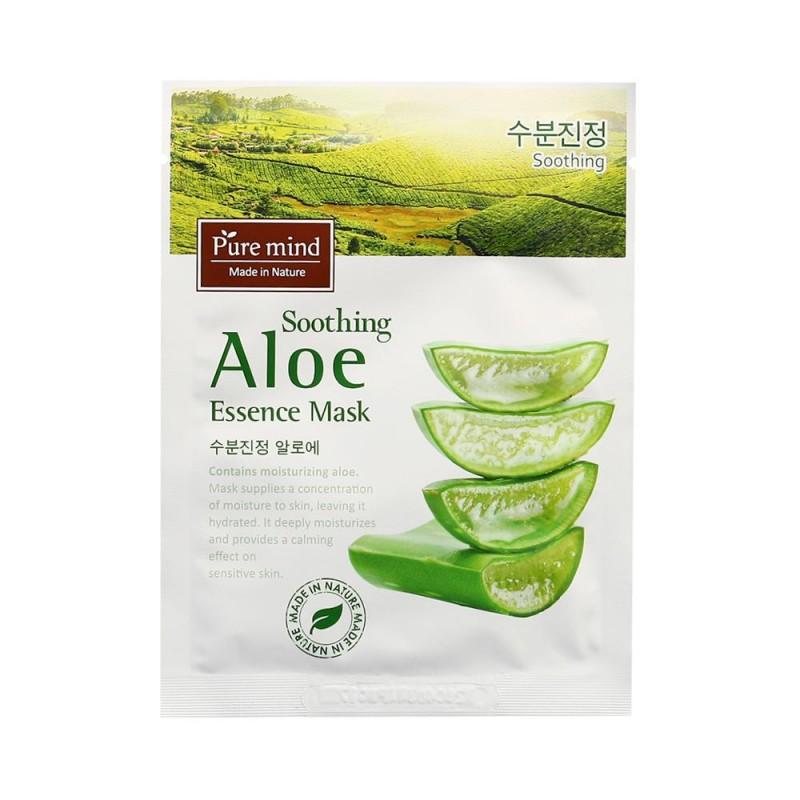 Pure Mind Soothing Aloe Essence Mask