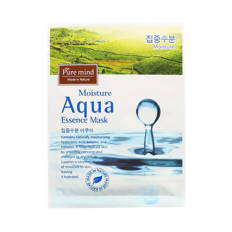 Pure Mind Moisture Aqua Essence Mask