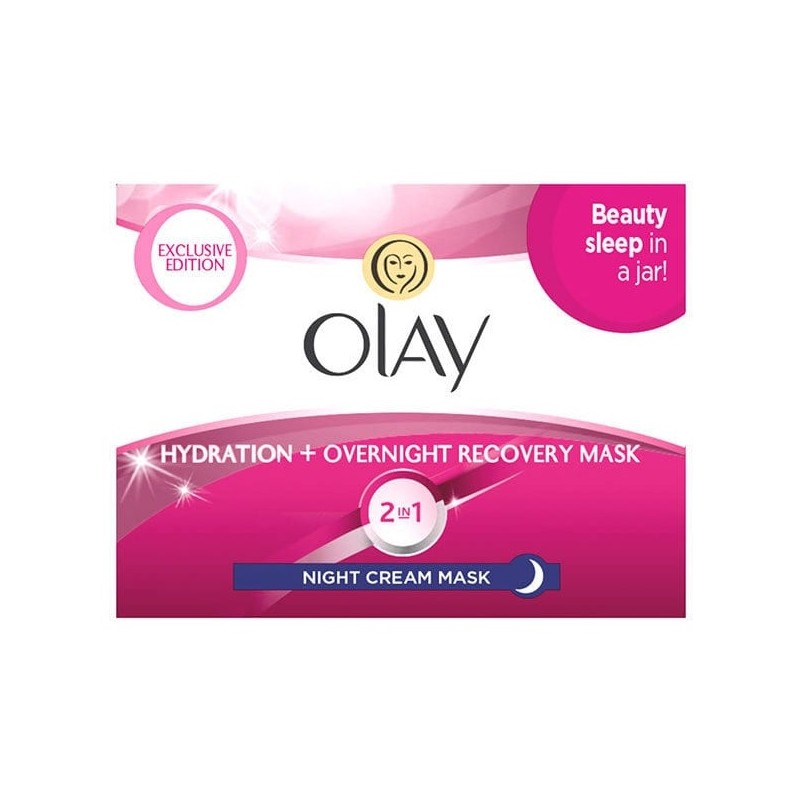 Olay 2in1 Night Cream Mask